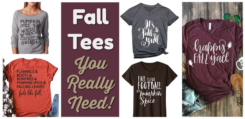 37cff32fd Fall T-shirts You Really Need! -