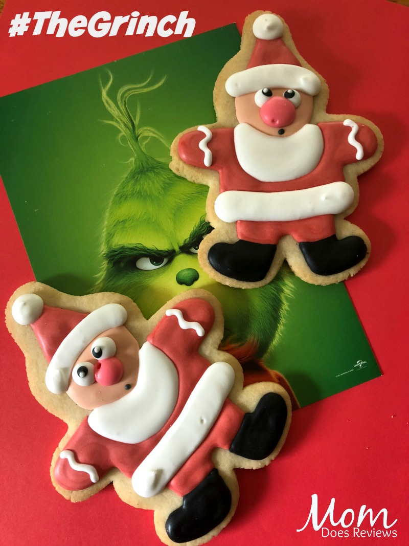Grinch Movie Cookies #theGrinch #cookies