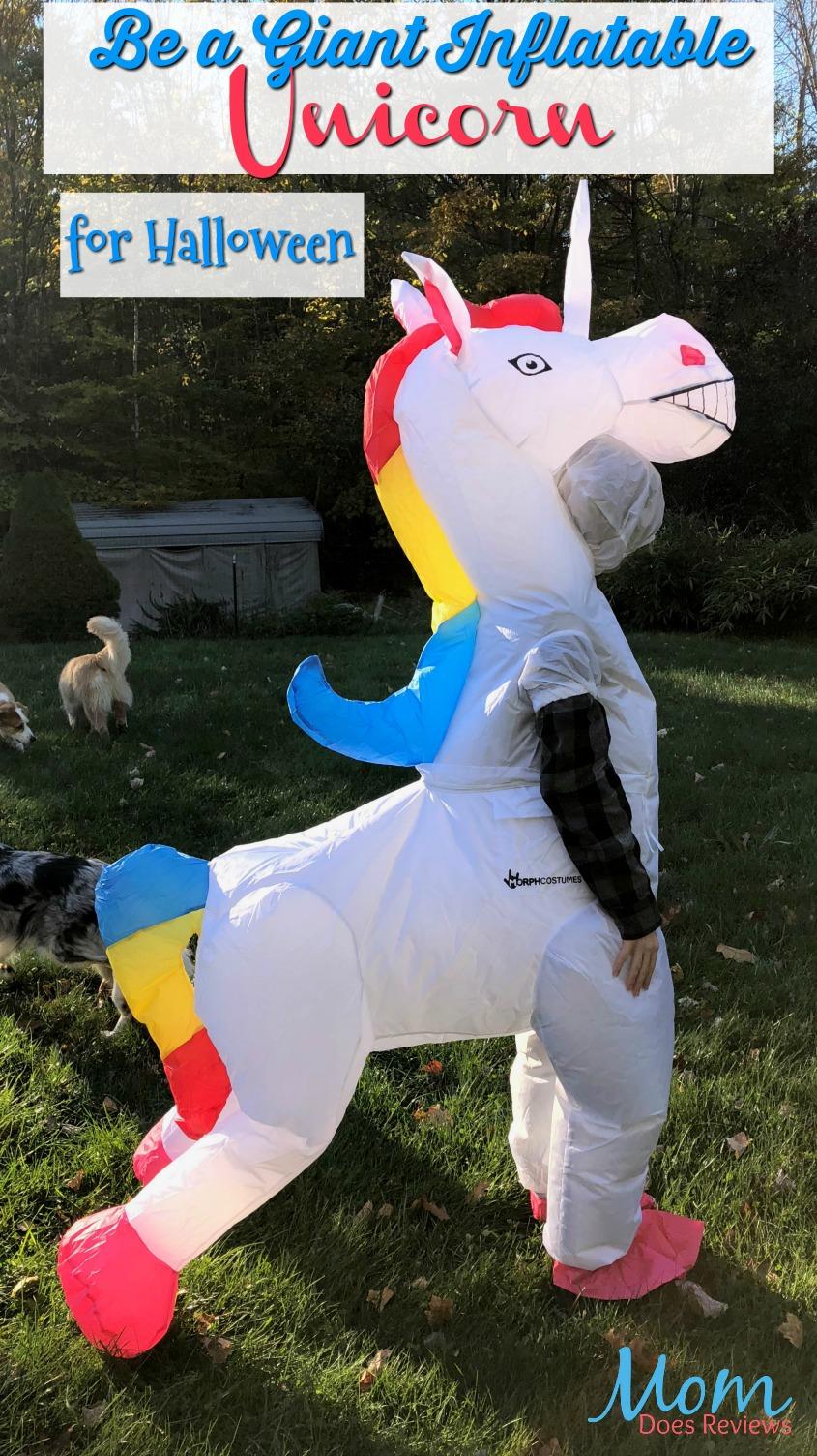 Wear a Giant Inflatable Unicorn for Halloween! #FunHalloween18