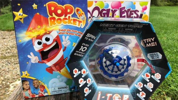 Pop Rocket and Googly Eyes Games
