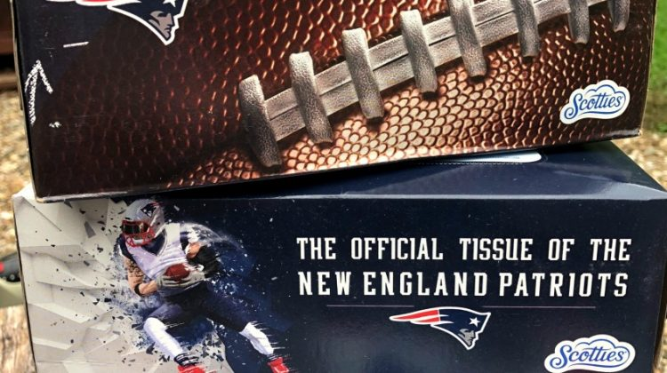 Scotties- Official Tissue for New England Patriots! Softer Side of Strong #Sweepstakes