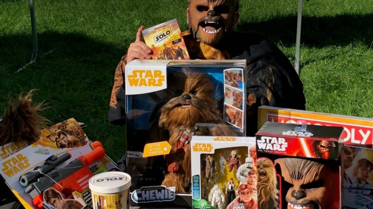Solo: A Star Wars Story Movie, Game Night and Family Fun Kit! #SoloBluRay