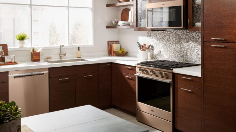 Whirlpool Sunset Bronze Gas Convection Range- Perfect for Holiday Baking #Bestbuy