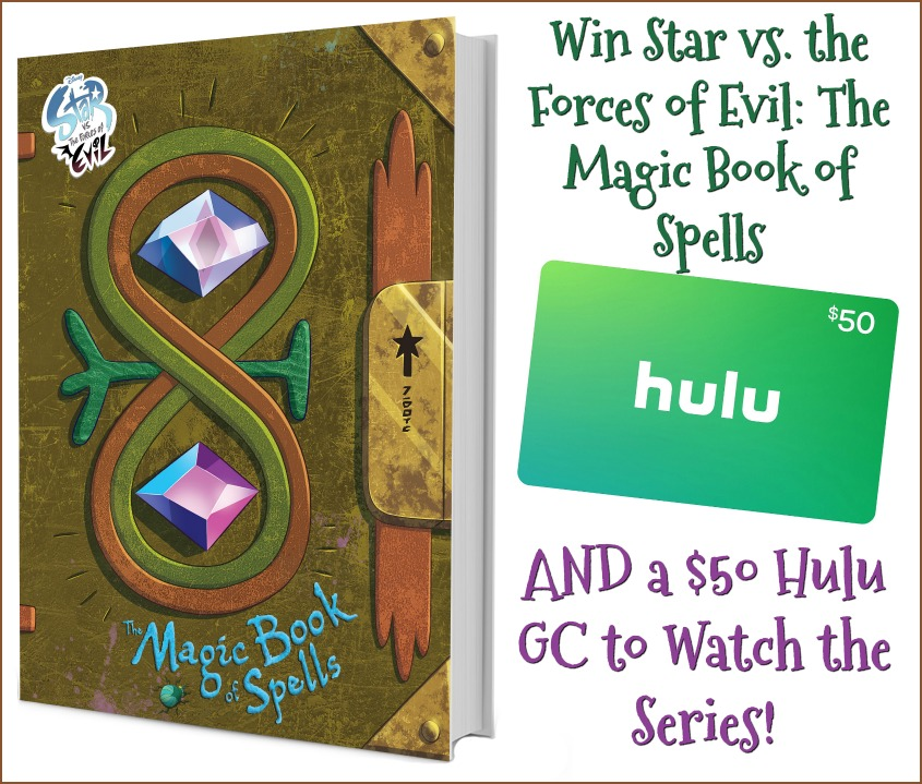 Win $50 Hulu GC and Star vs. the Forces of Evil: The Magic Book of Spells