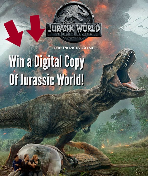 #Win Jurassic World: #FallenKingdom! #MEGAChristmas18 US ends 11/8