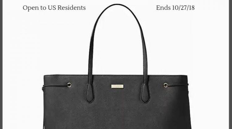 #Win a Kate Spade Laurel Way Ari Fit purse ($379 ARV) US ends 10/27