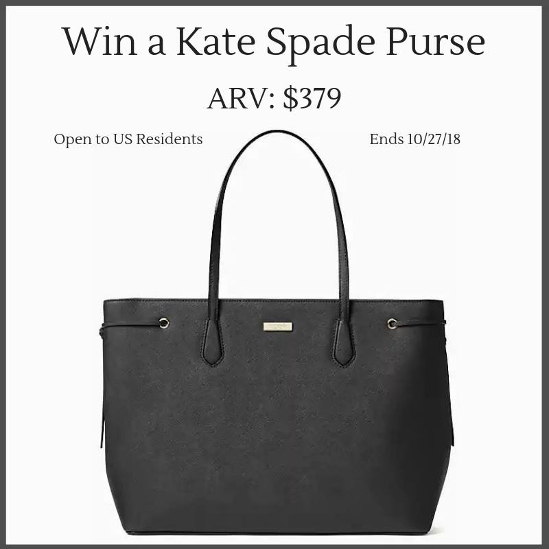 #Win a Kate Spade Laurel Way Ari Fit purse ($379 ARV) US ends 10/27
