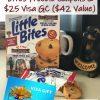 Win Little Bites and Visa GC