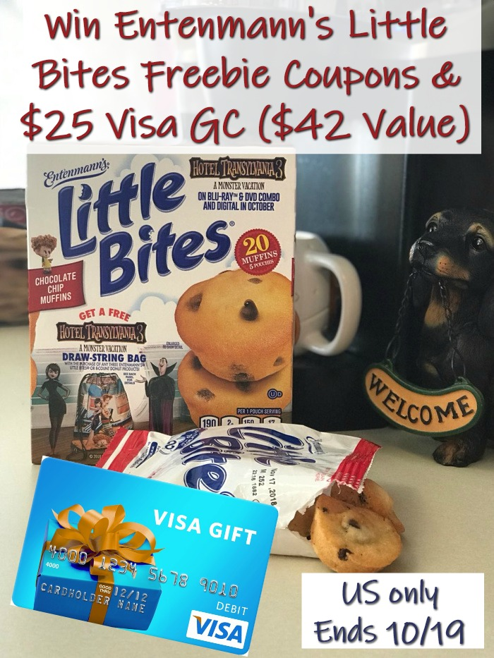 Win Little Bites and Visa GC