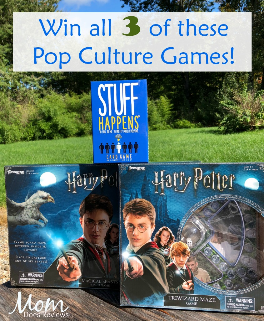 #Win Harry Potter Family Fun Games, US ends 10/16