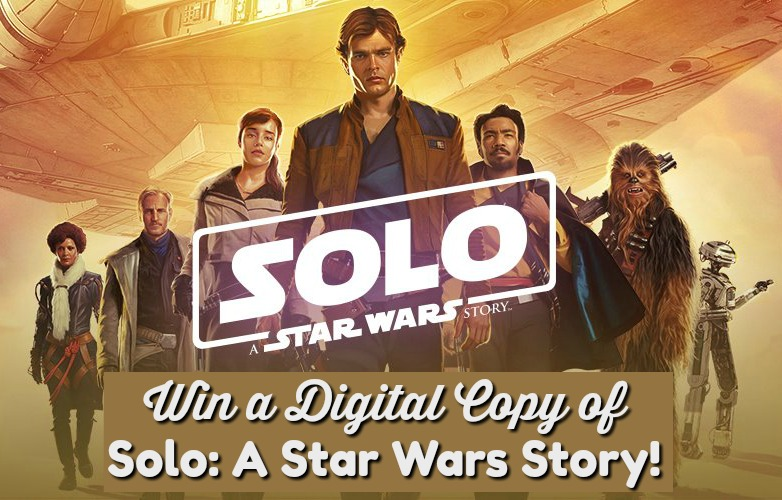 #Win a Digital Code to Solo: A Star Wars Story. US only, ends 10/16 #MEGAChristmas18