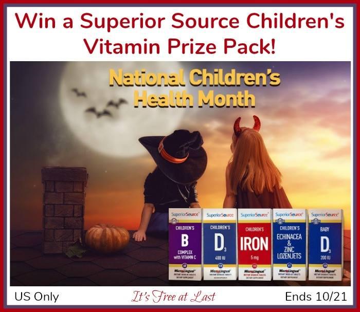 Superior Source Vitamins Children's Vitamin Prize Pack - 5-pack!