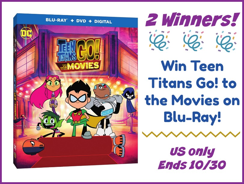 2 #Winners Teen Titans Go! To the Movies Blu-ray #TeenTitansGOMovie #MEGAChristmas18