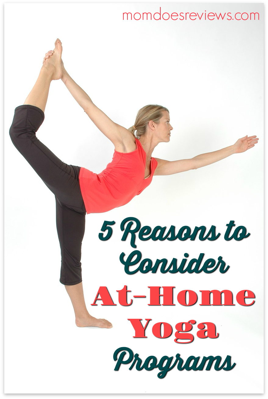 5 Reasons to Consider At-Home Yoga Programs #fitness #exercise #homeexercise #yoga #wellness