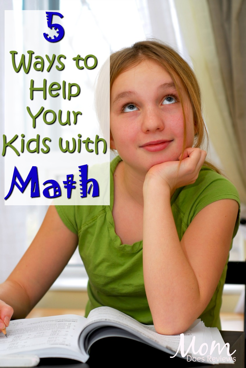 5 Ways to Help Your Kids with Math Homework #education #math #school