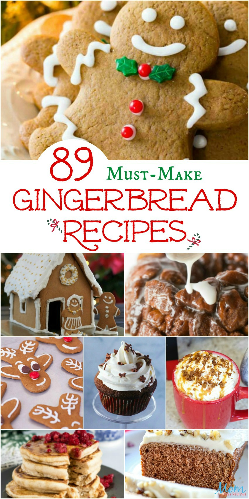 89 Must-Make Gingerbread Recipes Your Family Will Love #recipes #food #desserts #christmas #getinmybelly