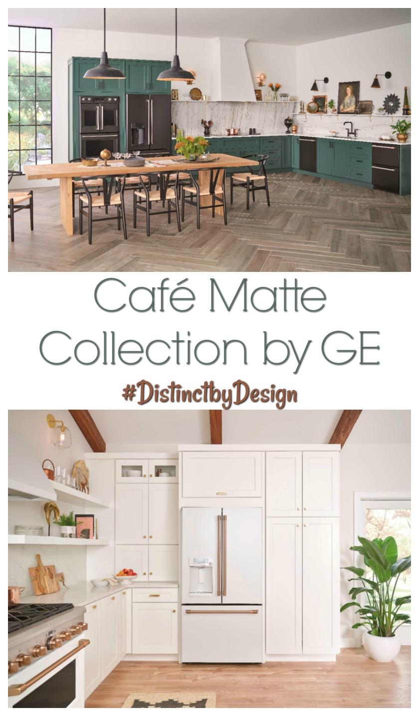 Café Matte Collection by GE #Distinctbydesign #ad #bestbuy #GE #appliances #kitchen