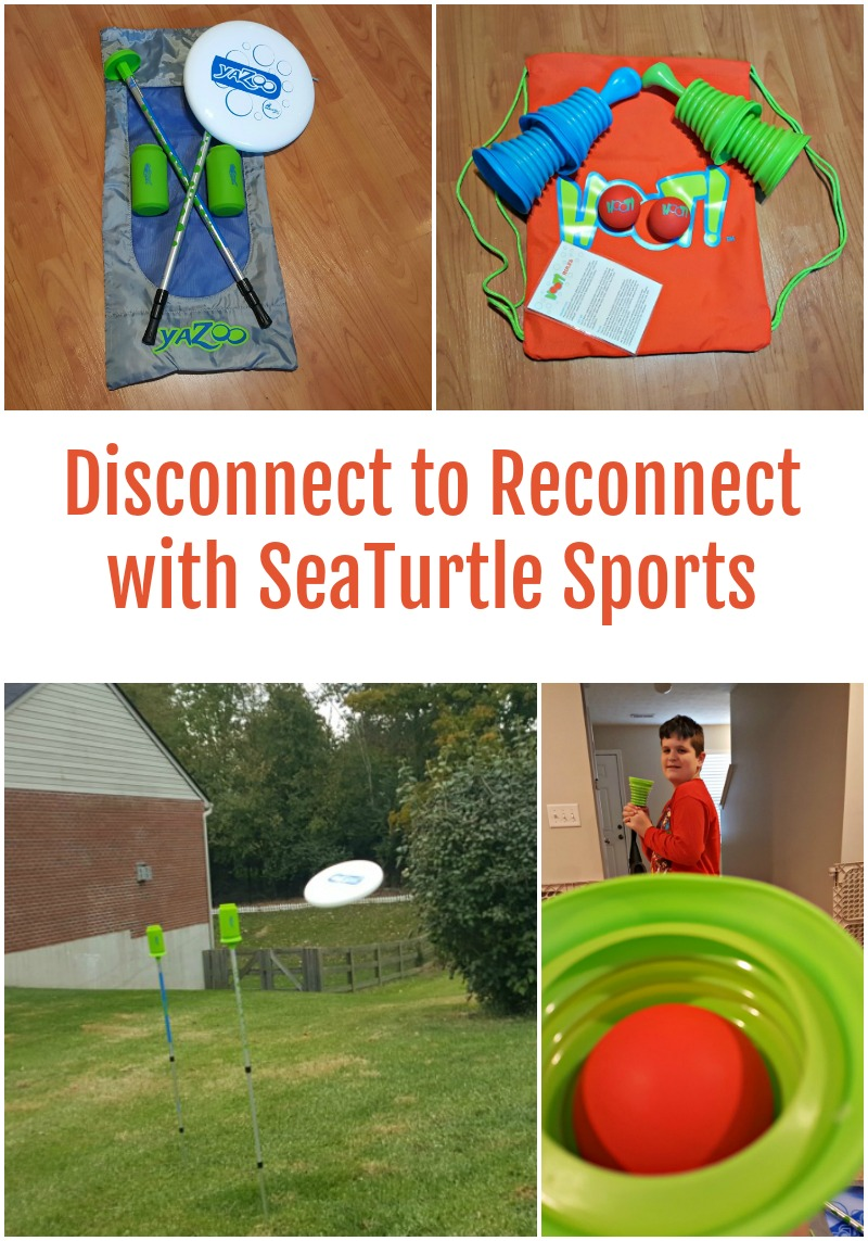 Disconnect to Reconnect with SeaTurtle Sports