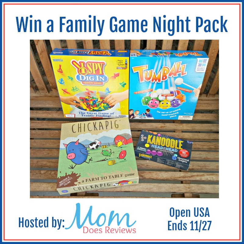 Family Game Night Pack