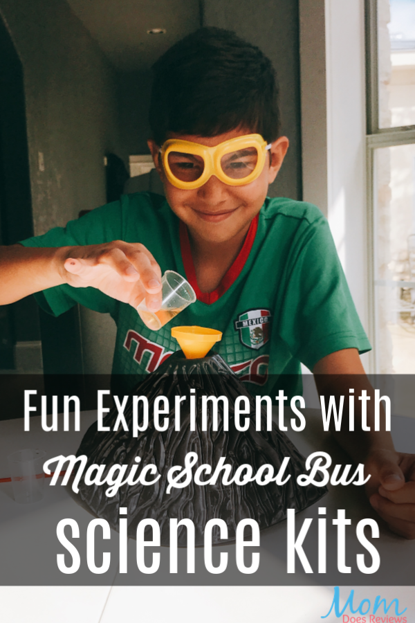 Fun Experiments with Magic School Bus Science Kits #MEGAChristmas18