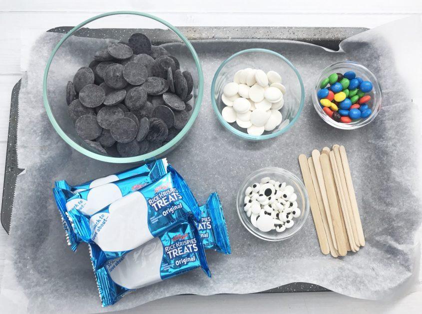 Penguin Rice Krispie Treats