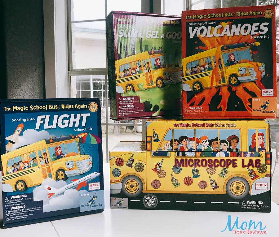 Magic School Bus Kits perfect for Christmas