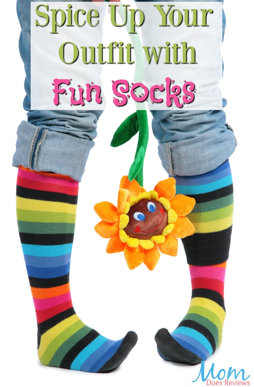 Spice Up Your Outfit with Fun Socks #fashion #socks #funsocks