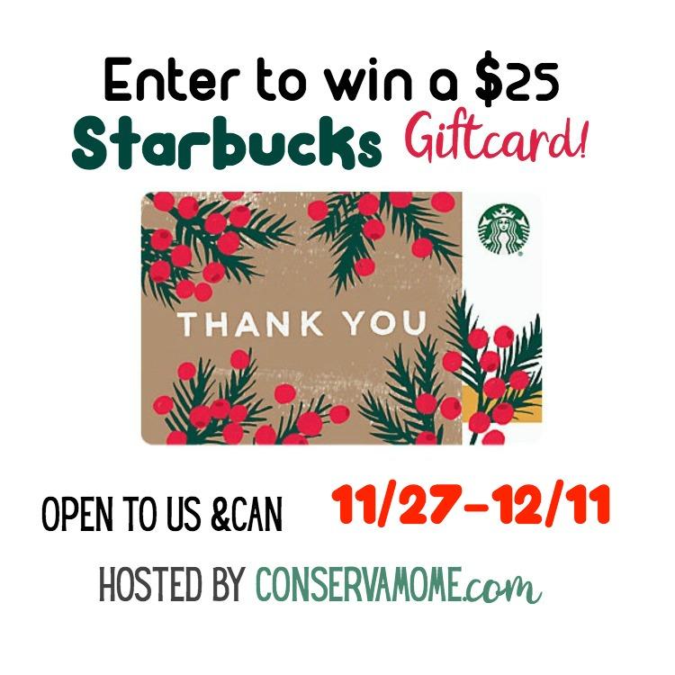 Win $25 Starbucks GC US/CAN