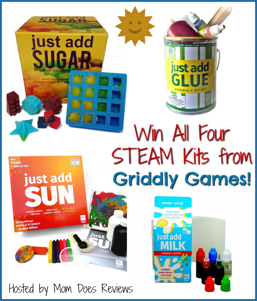 #Win 4 STEAM Kits from Griddly Games! US ends 11/13 #MEGAChristmas18