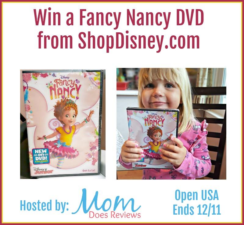 Win a Fancy Nancy DVD, ends 12/11