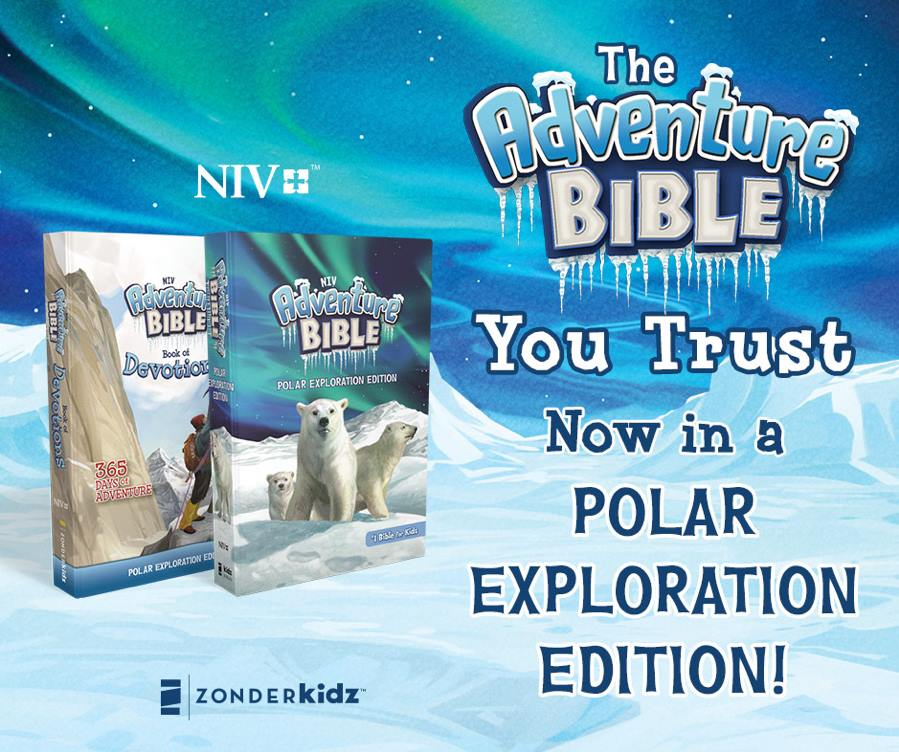 Win an Adventure Bible Polar Exploration Edition