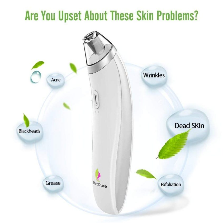 Clear up your Skin with MiroPure Vacuum Suction Beauty Device #MEGAChristmas18