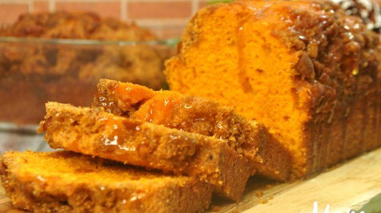 Salted Caramel Gingerbread Sweet Loaf
