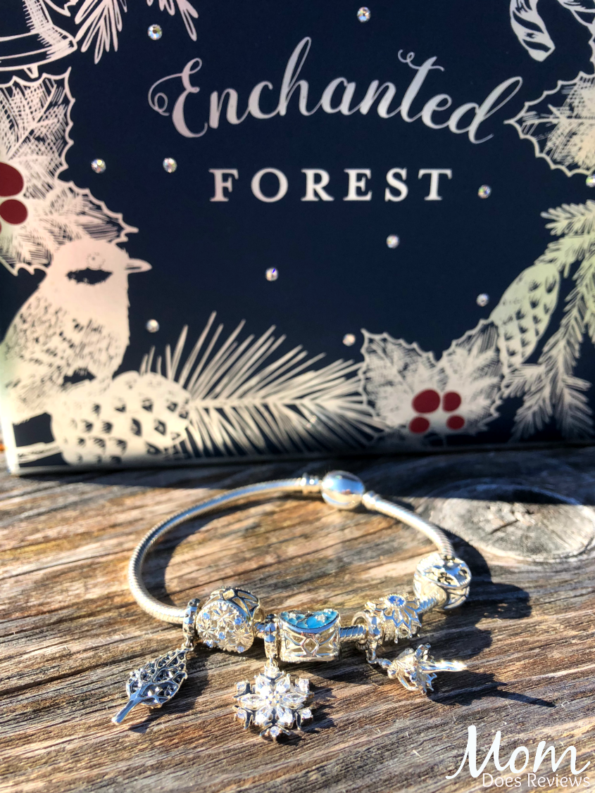 Give the Enchanted Forest Gift Set from Chamilia for a Magical Christmas! #MEGAChristmas18