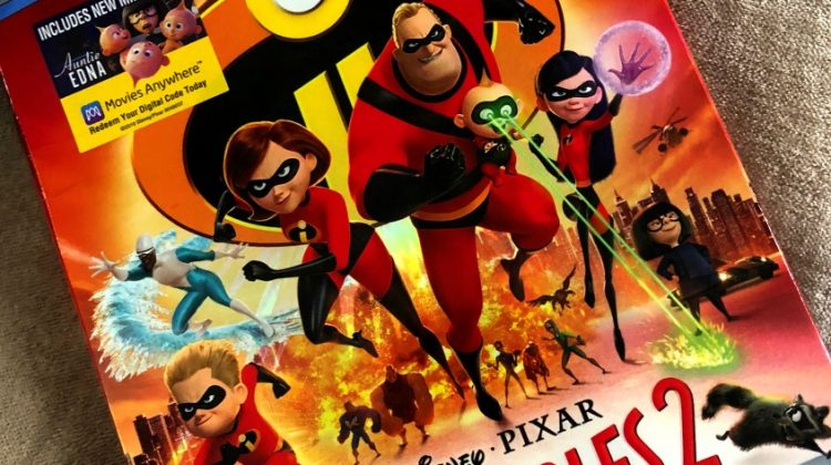 Four Incredible Reasons to see Incredibles 2! #Incredibles2