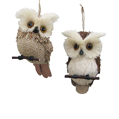 Kurt Adler Owl Ornaments