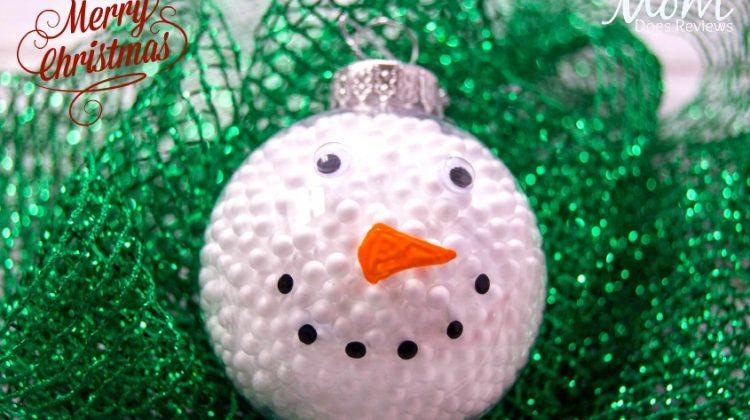 Easy Snowman Ornament