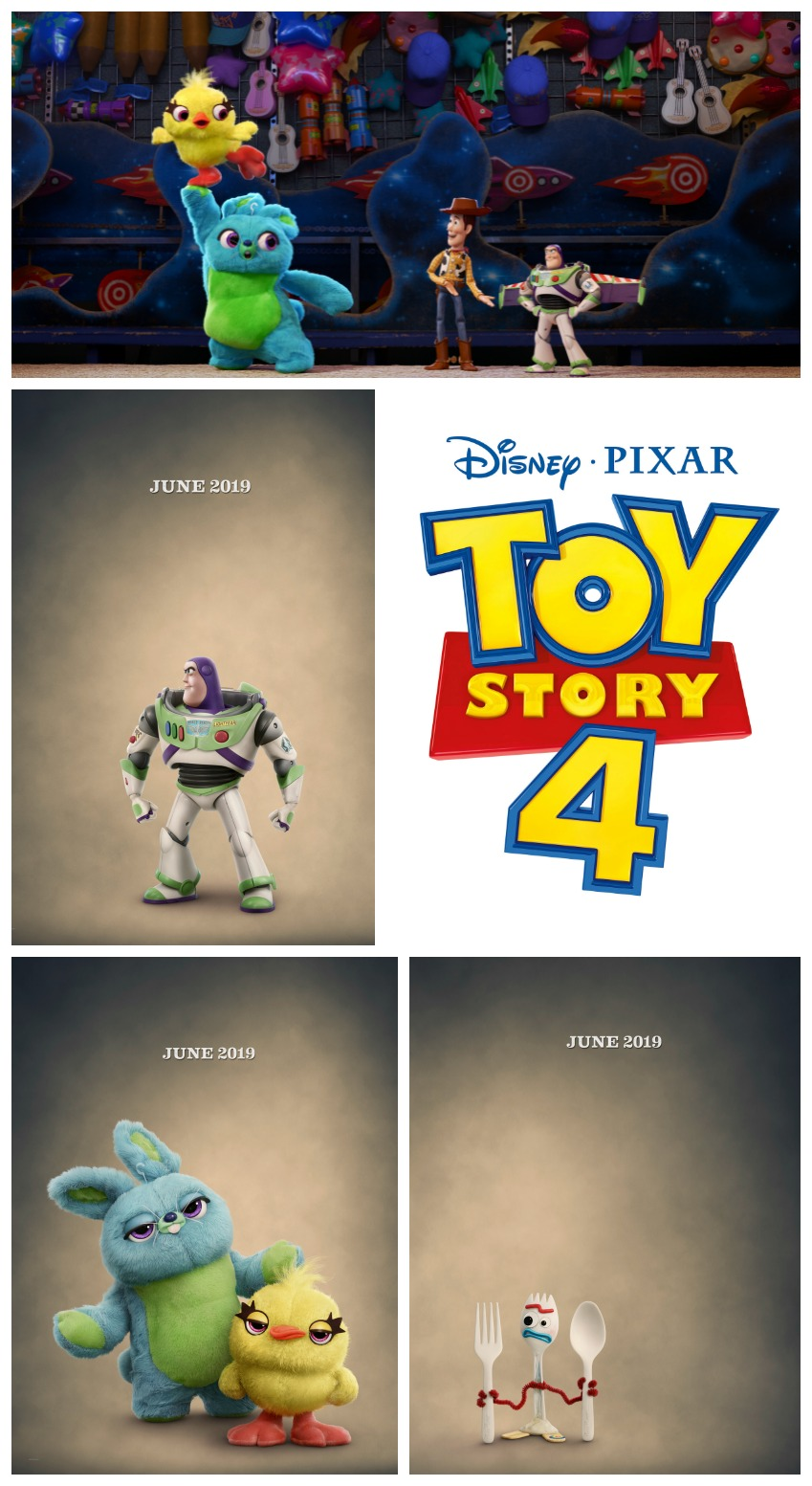 TOY STORY 4 Teaser Trailer and Character Posters! #ToyStory4 #disney #movies