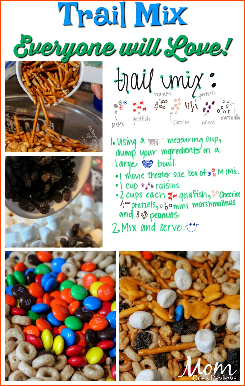 Trail Mix Everyone will Love! #snacks #food #foodie