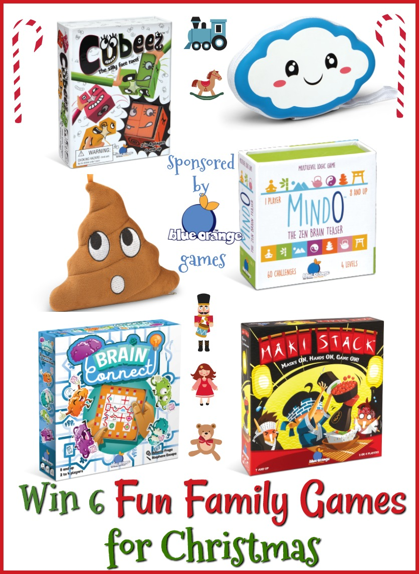 #Win 6 Fun Family Games for Christmas #MegaChristmas18 #giveaways