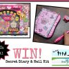 SmitCo Secret Diary and Nail Kit Giveaway
