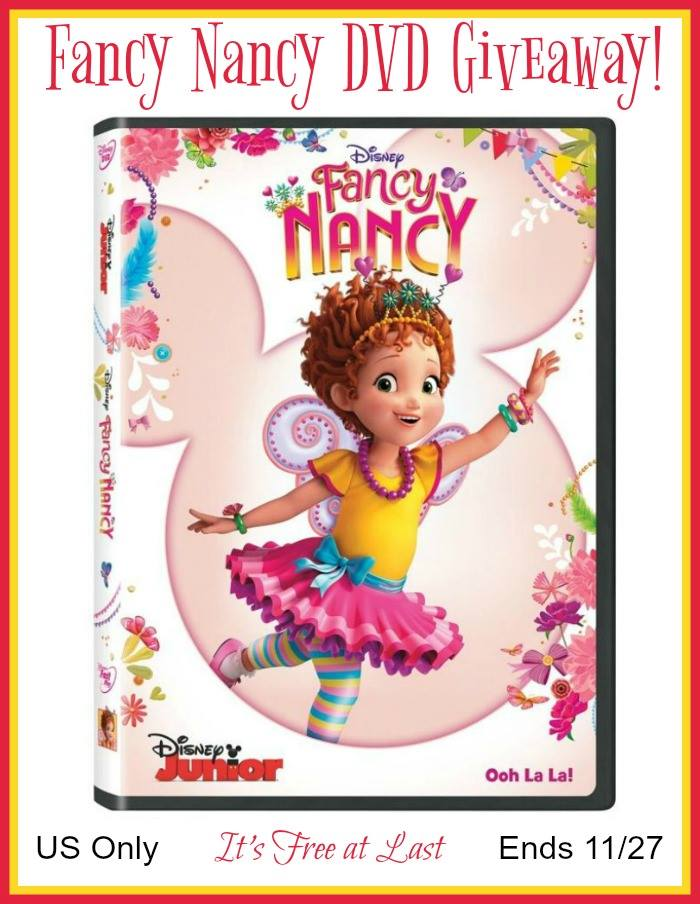 Win Fancy Nancy DVD
