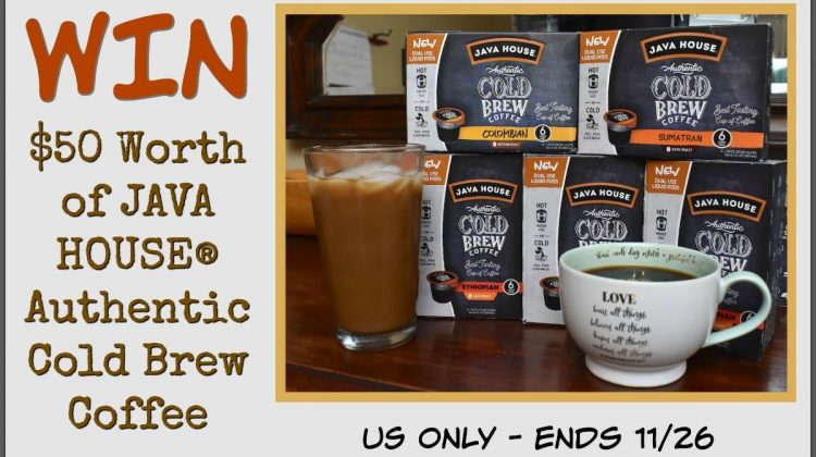#Win $50 Java House Cold Brew – US ends 11/26