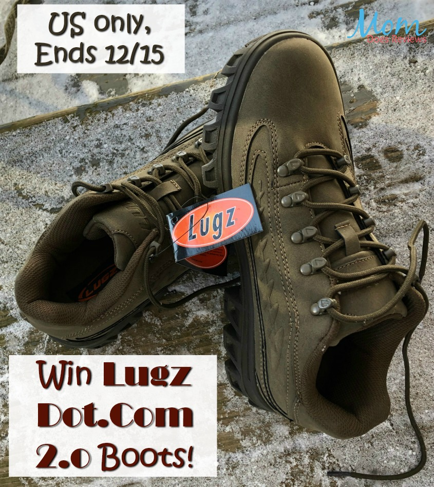 #Win Lugz Dot.Com 2.0 All Weather Shoes! US ends 12/15 #MEGAChristmas18