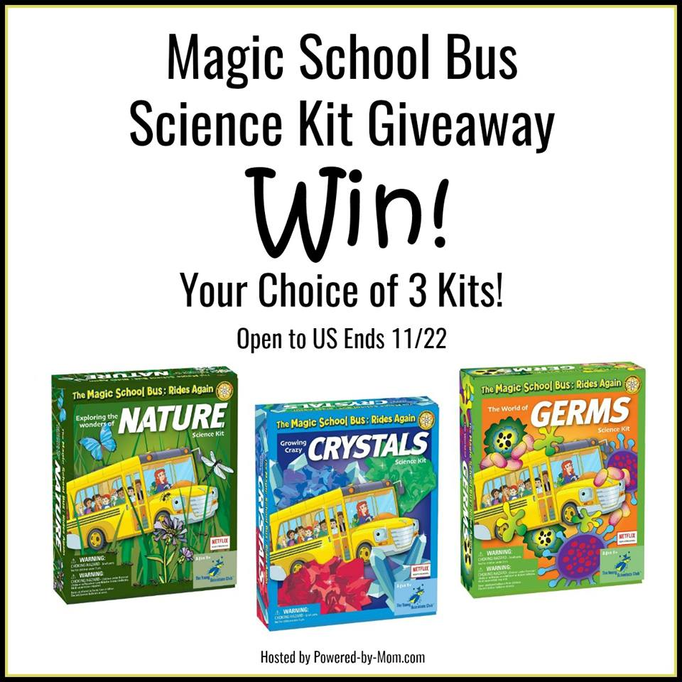 Magic School Bus Science Kits Giveaway US ends 11/22