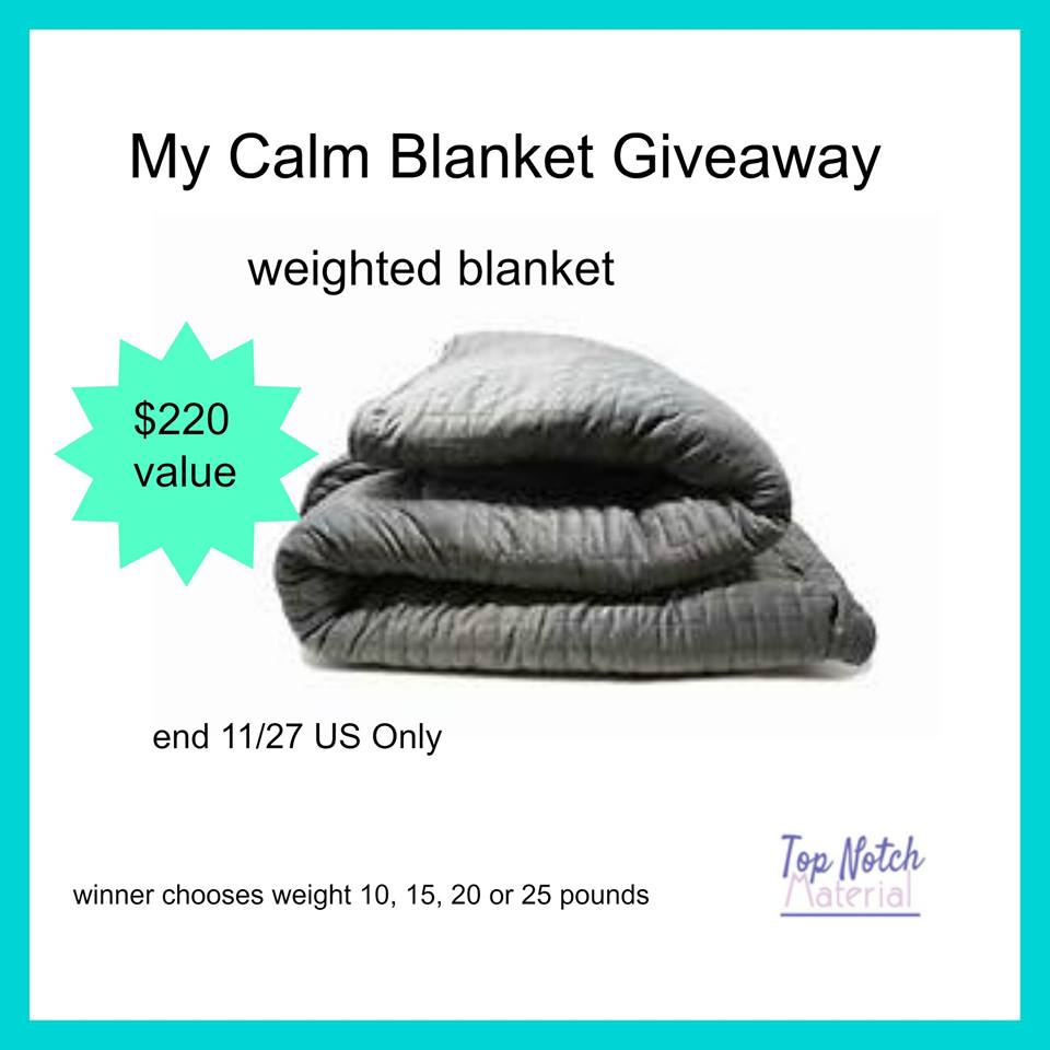 Win My Calm Blanket
