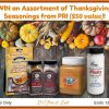 #Win an Assortment of Thanksgiving Seasonings from PRI ($50 value)! US ends 12/1
