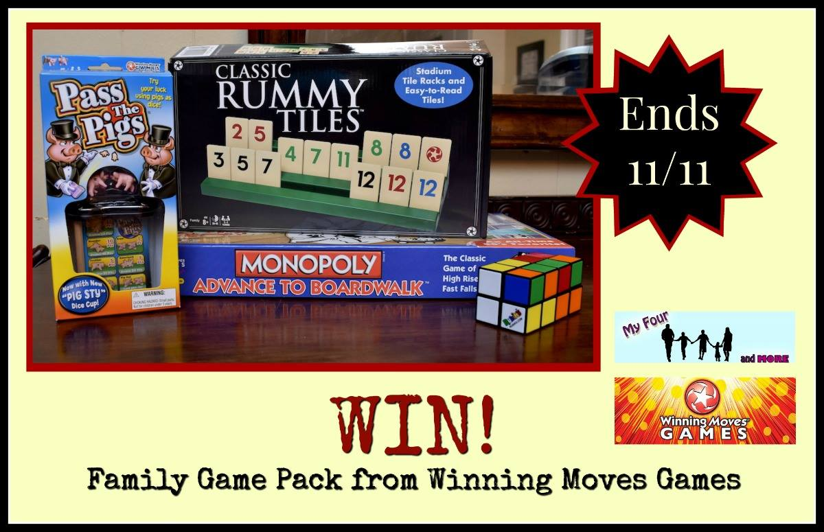 Winning Moves Game Pack #Giveaway US Only – Ends 11/11