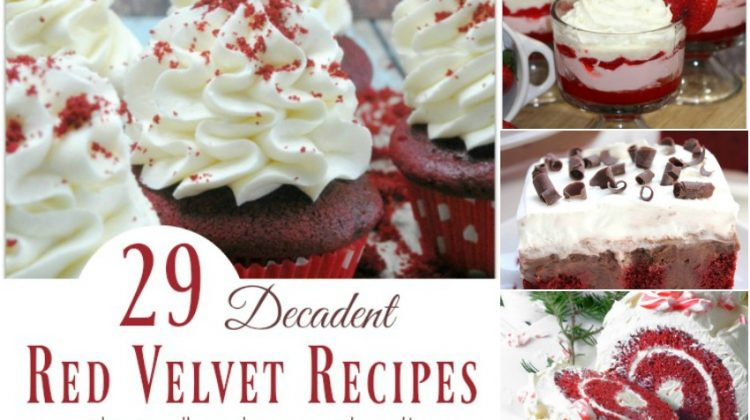 29 Decadent Red Velvet Recipes that will make you Drool