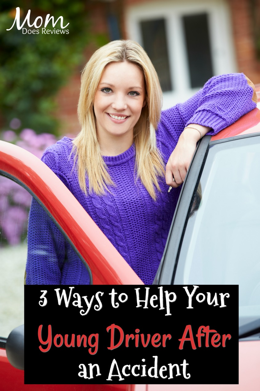 3 Ways to Help Your Young Driver After an Accident #teens #driving #parenting #safety